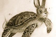 Imaginary animals - tekenen