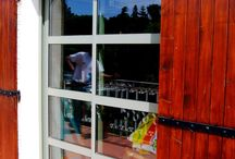 Baie vitrée coulissante / Baie à galandage alu sur mesure - Nimes, Gard (30)