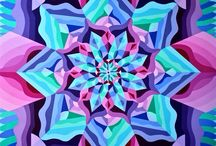 Geometría- naturaleza -colores / Pinturas