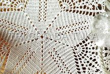 Charted crochet patterns