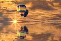 Hot Air Balloons / ...shall we float all the way to the stars...up, up and a way!!!