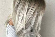 Bílé vlasy