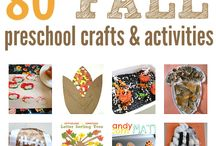 Preschool Crafts: Fall
