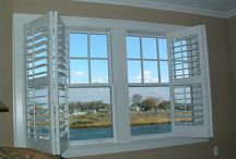 Dream Home / Plantation Shutters, Wood Blinds, Silhouettes, Sheer Shades, Honeycomb shades, cellular shades, roller shades, Roman shades, woven wood shades, drapery