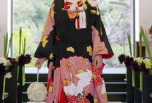 Dressed in kimono