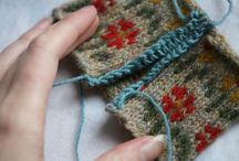How to technics in knitting