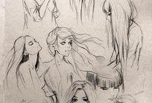 Bocetos. / :D