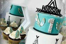 Hugh's first birthday