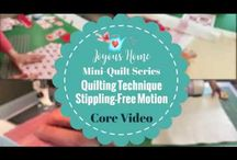 Joyous Home Quilting Courses - Videos