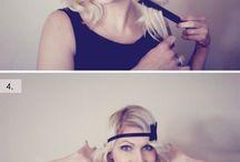 Estilos de cabello con diademas