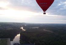 Lieux à visiter / quelques unes de nos plus belles photos en vol en montgolfière sur les plus beaux paysages du Val de Loire