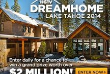HGTV Dream Home 2014 GIVEAWAY  / In love the yearly HGTV Dream Homes and this year, HGTV is giving away a home in Lake Tahoe, CA that is a rustic meets modern mountain retreat.  Everyone can enter daily through February 14, 2014.