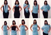 ways to wear a scard