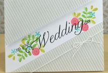 Cards - Wedding/Anniversary / wedding cards