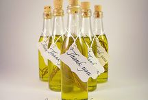 "Beautiful Simplicity - ""Olympus"" design Extra Virgin Olive Oil Favors"
