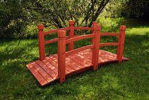Kładki drewniane / Kładki ogrodowe wykonane z drewna - BioPeak