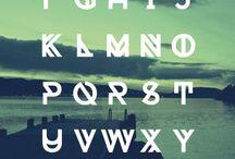 geometric font