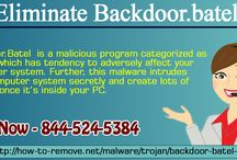 Eliminate Backdoor.batel / Backdoor.Batelis a malicious program categorized asTrojanwhich has tendency to adversely affect your computer system. Further, this malware intrudes your computer system secretly and create lots of trouble once it's inside your PC. After Backdoor.Batel infect your PC firstly it alters registry files and adds new tools to your computer system.