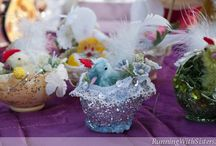 Easter Ideas / We love making crafts and decorations for Easter! All the Spring imagery is just too cute -- bunnies, chicks, lambs, and pretty Easter eggs. Love them all!