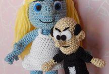 smurfs crochet