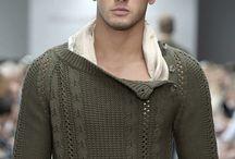 Pánská pletená móda; Knitwear men; вязание для мужчин; Men's Sweaters