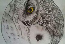 ilustrations, tatoos