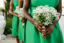 Bridesmaid Bouquets / Accent your bridal bouquet with your maids!
