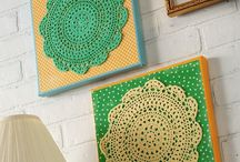 Ideas with doilies