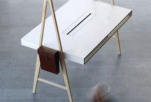 Desk / Wood working; DIY; Desk and Design