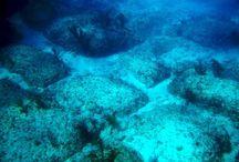 Onderwater steden paleizen en objecten