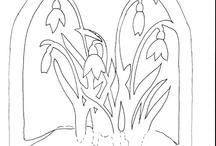 sablonok és kifestők