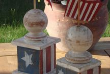4th of July Decor / by Danielle Carver