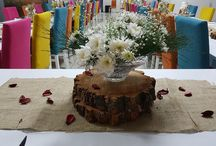 Table setting / Handmade table setting