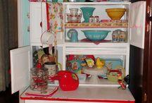hoosier cabinet / by Janet Coates