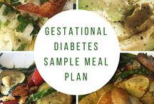 Meals for gestational diabetes