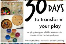 Transform Your Play / Tapping into your child's interests to create more meaningful play: A series with An Everyday Story and Racheous - Lovable Learning