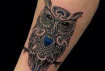 Tatuaże z sowami