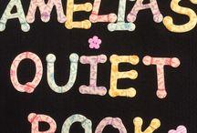 Amelia's Quiet Book / Lo elaboré para el primer cumpleaños de mi nieta Amelia