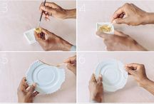 Repair crockery