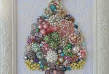 Oh Chic Shabby Christmas Tree