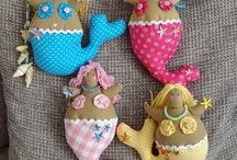 soft toys / by Kathy Smith Creatives