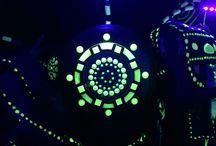 Fluorescent pattern