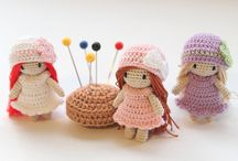 Háčkované panenky