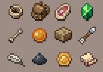 Pixel Art Items