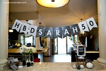 Black and White Party   Ideas, Decorations and Inspiration / Black and White party ideas, including party decorations, black and white themed sweets and treats, printables and party activities.