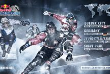 Red Bull Ice Cross Downhill bigger than ever before in 2015/16 / Red Bull Crashed Ice 2015/16 Race Calendar: November 27.-28. 15: Québec City, QC, Canada; January 08-09.16: Germany; January 29.-30.16:  Jyväskylä-Laajis, Finland; February 26.-27.16:  Saint Paul, MN, United States