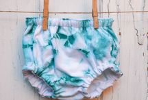 Baby bloomers / A collection of my favourite baby bloomers (nappy covers / diaper covers).