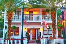"44 Spanish Street Inn, St. Augustine, Florida / Our vintage bed and breakfast style Inn,  ""44 Spanish Street Inn""  - Welcome!"