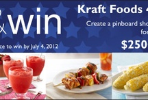 Kraft Recipes Pin and Win / by Sara Haaf