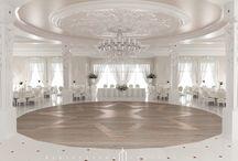 Projekt sali weselnej